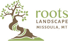 Roots landscaping Logo